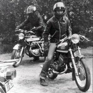 70-luku. S Heino ja Yamaha 350cc